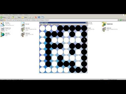Отрывок платного урока 64 Соколов Виталий Создание игры головоломки Черное и белое на Delphi
