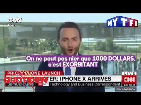 L'iPhone X : le téléphone qui coûte un bras - Quotidien du 13 septembre