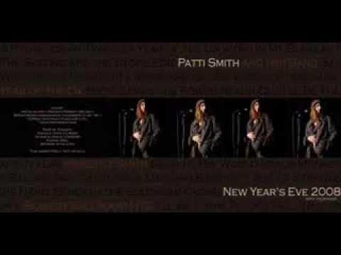 Patti Smith - Bowery Ballroom.  part 1