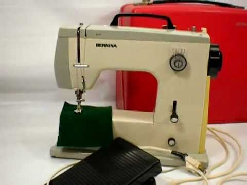 SOLD Bernina Model 40 Sewing Machine For Sale On EBay YouTube Adorable Bernina Used Sewing Machines For Sale