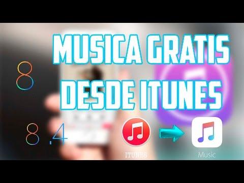 DESCARGA MUSICA GRATIS DESDE ITUNES FULL HD IOS 8 JULIO 2015