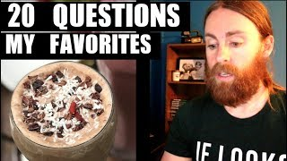 20 Questions My Favorite Things - The Vegan Zombie