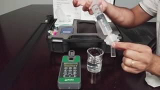 Ballast-Check 2: Measuring a sample - HIGH risk reading