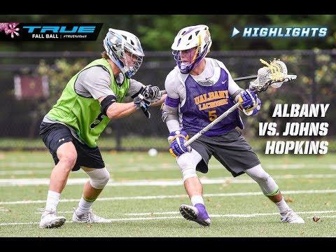 Fallball Highlights: Johns Hopkins vs. Albany