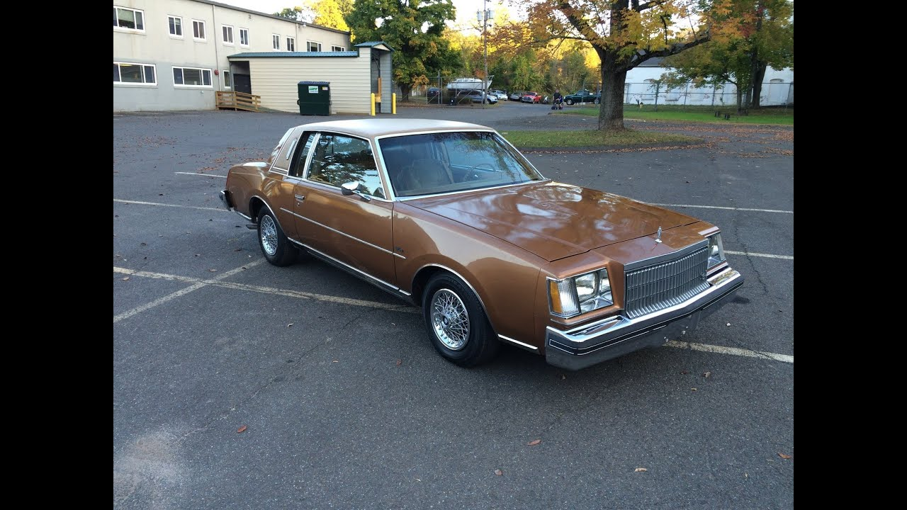 1979 Buick Regal Limited Youtube