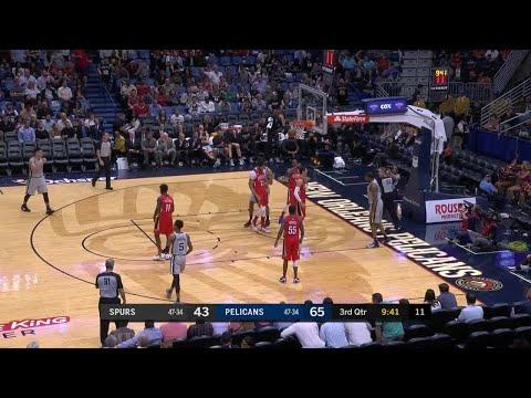 3rd Quarter, One Box Video: New Orleans Pelicans vs. San Antonio Spurs