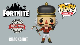 Crackshot Funko Pop Vinyl Fortnite Special Edition Exclusive Nutcracker