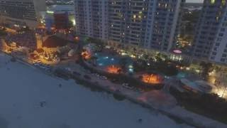 Daytona Beach Night Skyline