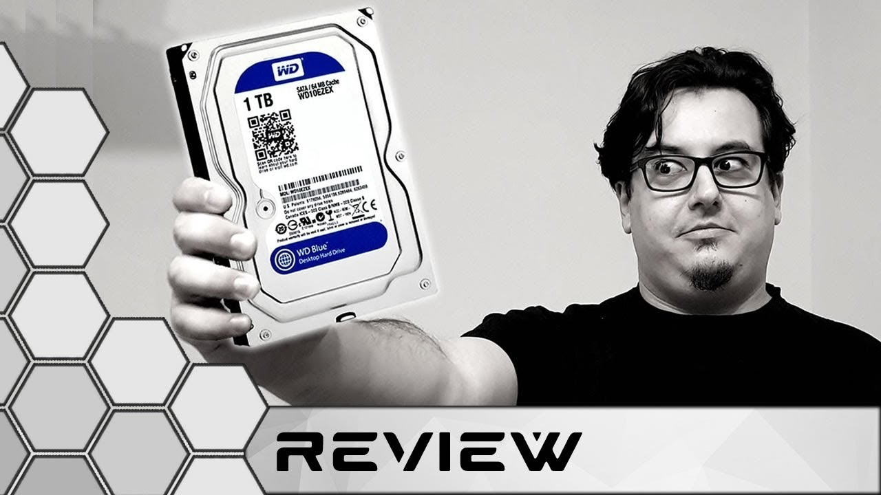 WD 1Tb Computer Hard Drive Unboxing Review and Test