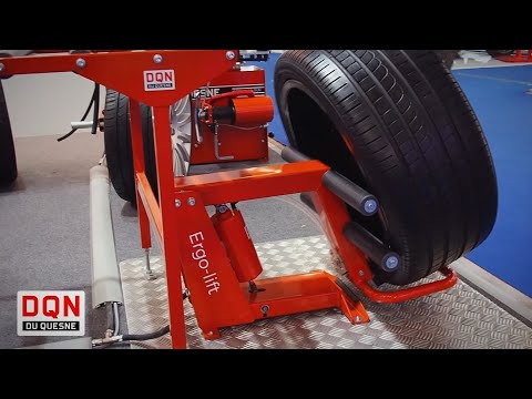 Ergo lift: DQN lift for wheels and tires