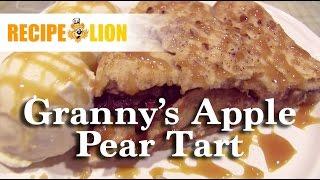 Grannys Apple Pear Tart
