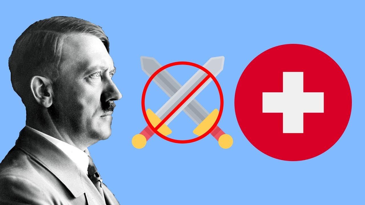 Почему Гитлер не напал на Швейцарию ?