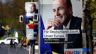 EU elections: Manfred Weber presents bid