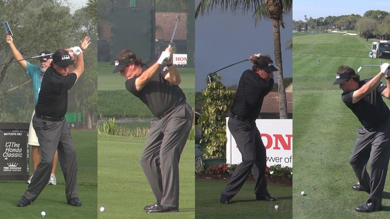 Phil Mickelson 2014 Honda Classic Pro Am Golf Swing Footage Reg Slow Motion 1080p Hd Youtube