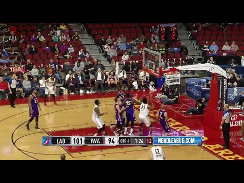 Highlights: Deyonta Davis (15 points)  vs. the D-Fenders, 3/15/2017