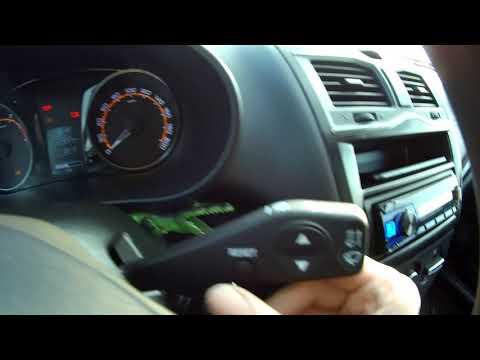 Подсказчик переключения передач LADA GRANTA FL. Отключение и включение на всех комплектациях!