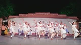 Namo namo bharathambe song by Hasini reddy at Shilparamam