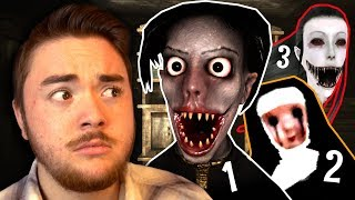 MAKING HORROR GAMES FUNNY!?!? | De-Scareifying Horror Games