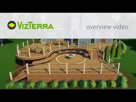 Vizterra Landscape Design Software Overview Newest Version