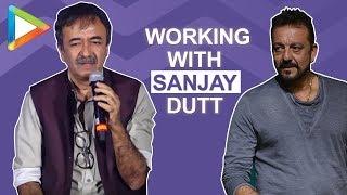 """CANDID: """"Zindagi toh Sanjay Dutt ne jiya hai"""" says Rajkumar Hirani @Sanju Trailer Launch"""