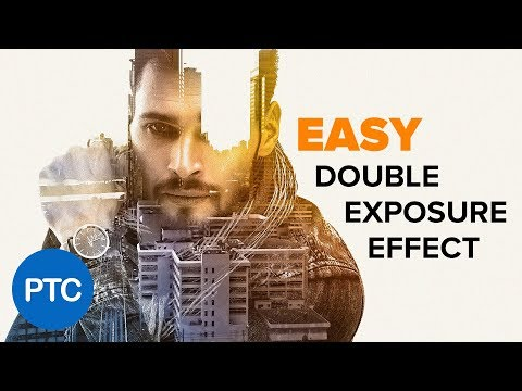 DOUBLE EXPOSURE Effect Photoshop Tutorial - EASY Double Exposure in Photoshop thumbnail