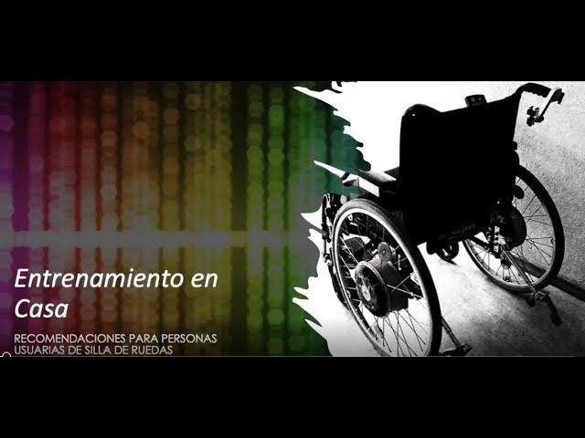 Entrenamiento en casa: recomendaciones para personas en silla de ruedas