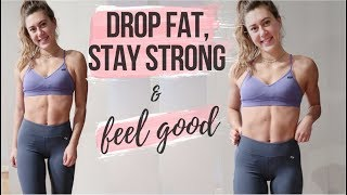 HOW TO CUT EFFECṪIVELY || LOSE FAT, KEEP MUSCLE
