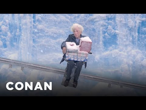 Introducing: Acorn's Cross-Country Stair Lift  - CONAN on TBS