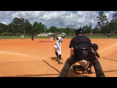 Aaron Bennett pitching highlights 2017 Collins Hill Eagles 13U