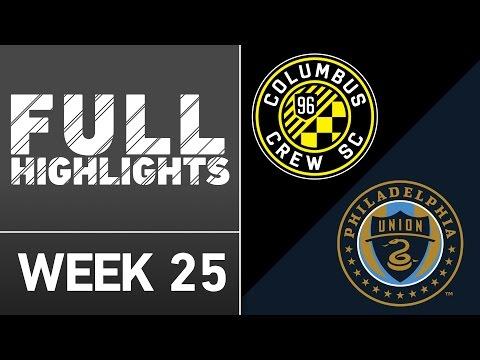HIGHLIGHTS | Columbus Crew SC 1-2 Philadelphia Union