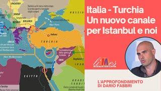 Italia-turchia. un nuovo canale per istanbul e noi
