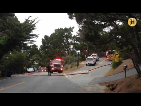 Firefighters Battling 1-Acre Brush Fire in Oceanside