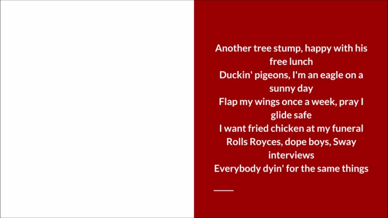 Rick Ross - Apple Of My Eye Lyric Video