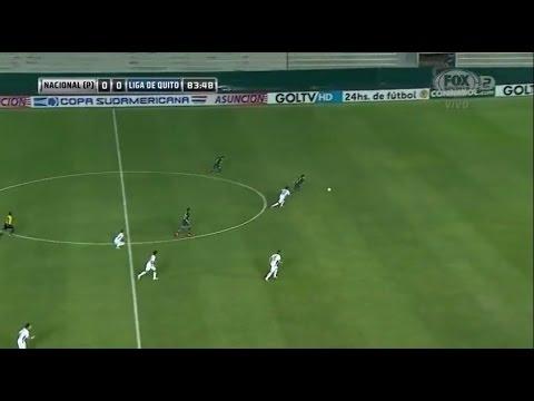 Nacional de Asunción 0 - 1 Liga de Quito Copa Sudamericana 2015