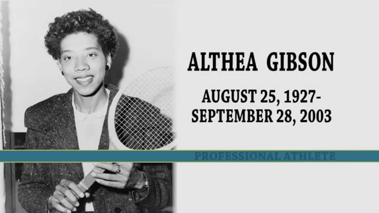 Know Black History Althea Gibson