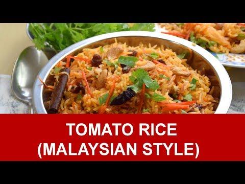 Tomato Rice Recipe (Malaysian style)