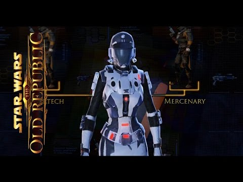 STAR WARS The Old Republic all Classes & Character Progression Videos SWTOR