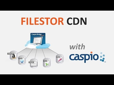 Improve Your Cloud App Performance with Caspio FileStor CDN
