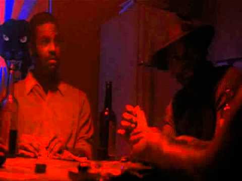 Tat (Samuel L. Jackson) asking for his money - Menace II Society