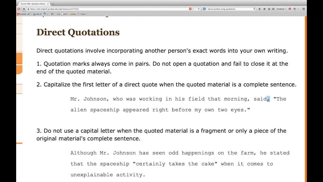 How do I use qoutes in a essay?