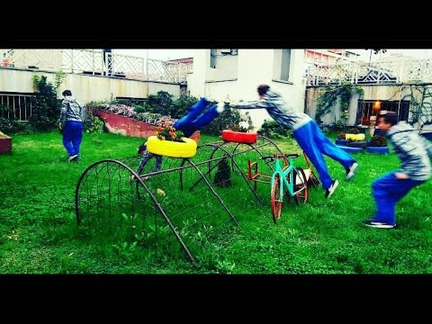 "Training in Strumica with big fail ... ""Without Law"" Parkour Macedonia 2016"