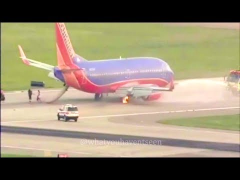 Southwest Airlines Main Landing Gear Fire (Houston, 2009)