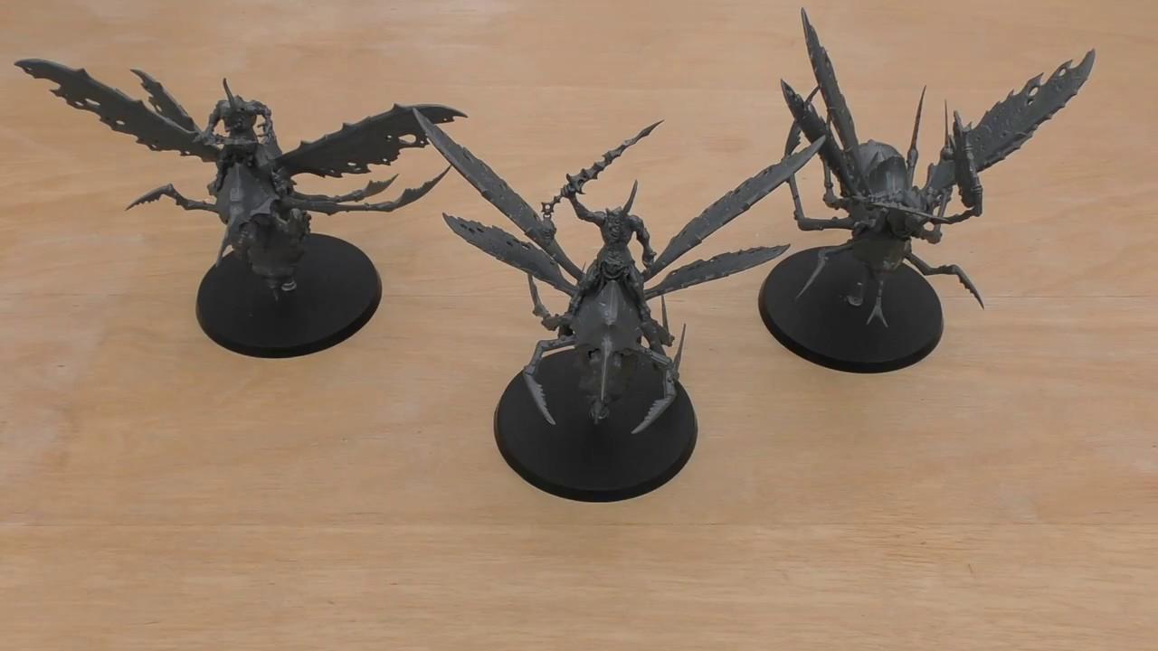 40K Daemons of Nurgle Plague Drones Mouthed Stingers Bits 3 Bitz