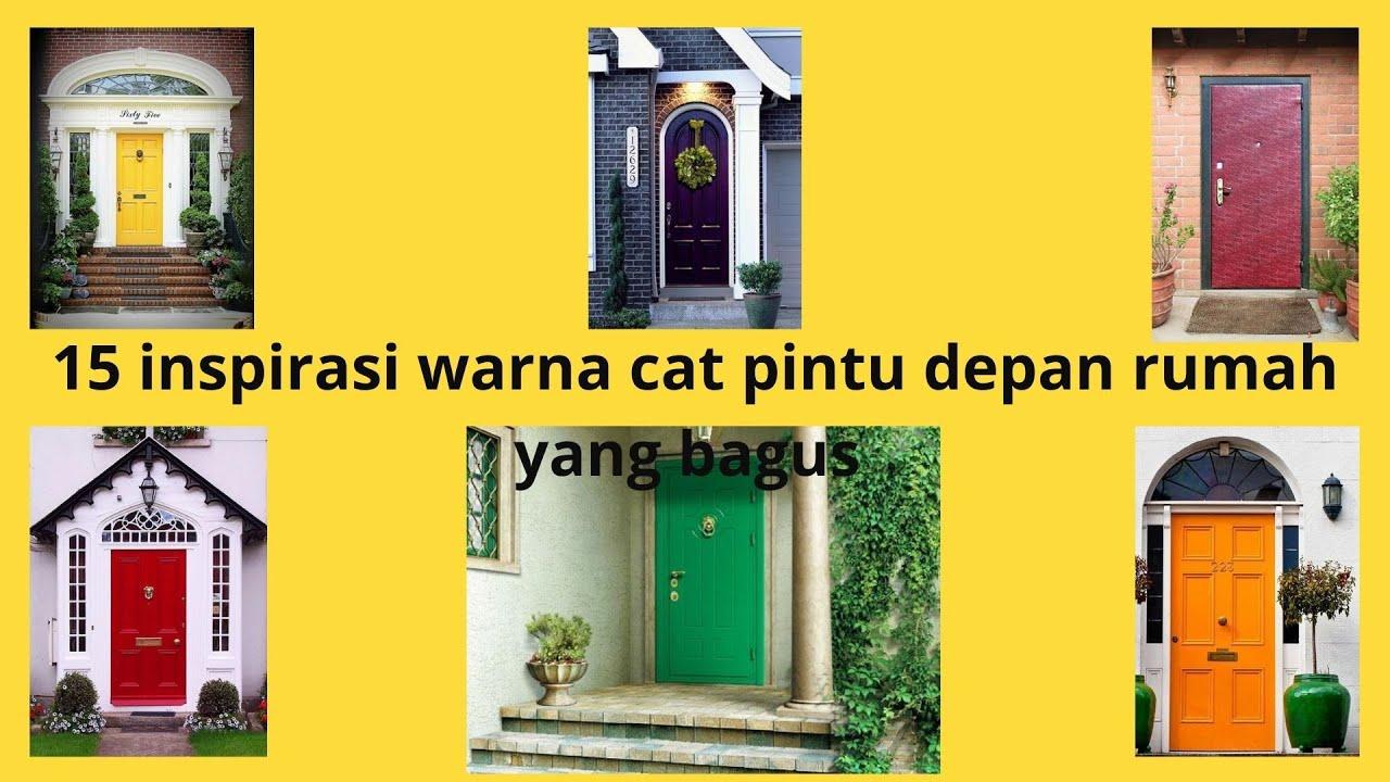 23 Info Populer Cat Pintu Kamar Minimalis