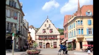 Munster, au cœur du massif des Hautes Vosges en Alsace