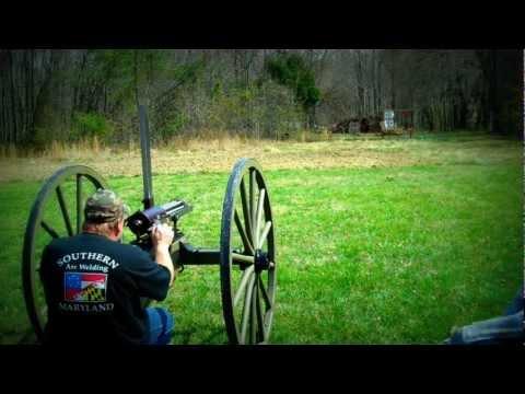 Shooting my 1862 Gatling Gun
