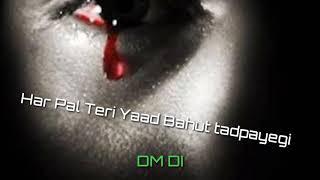 Har Pal Teri Yaad Bahut tadpayegi WhatsApp status and ringtones