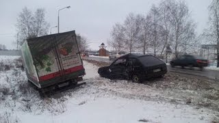 ДТП подборка / Зима 2012-2013 / Часть 9