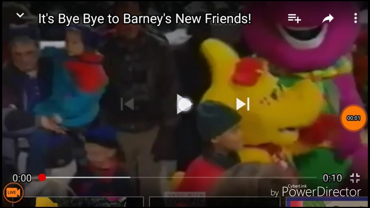 Barney and Friends (Barney\'s Christmas Star) say goodbye to the ...