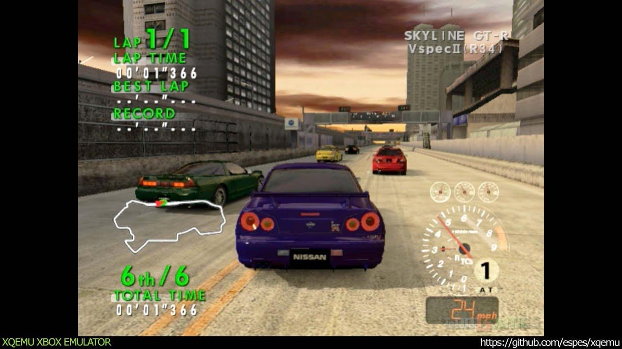 XQEMU Xbox Emulator - Sega GT Online Ingame - realtime! (WIP)